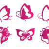 vector-butterfly-purple-icons